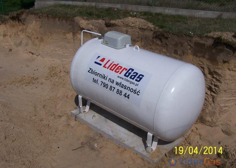 LiderGas zbiorniki na własność.