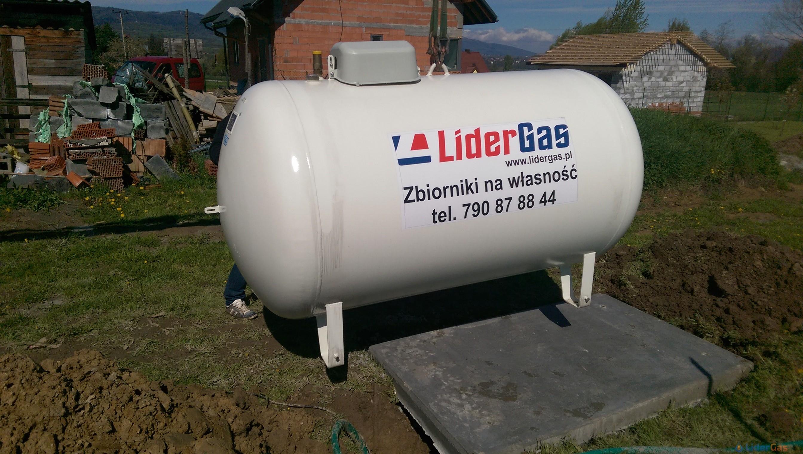 Zbiorniki na gaz płynny