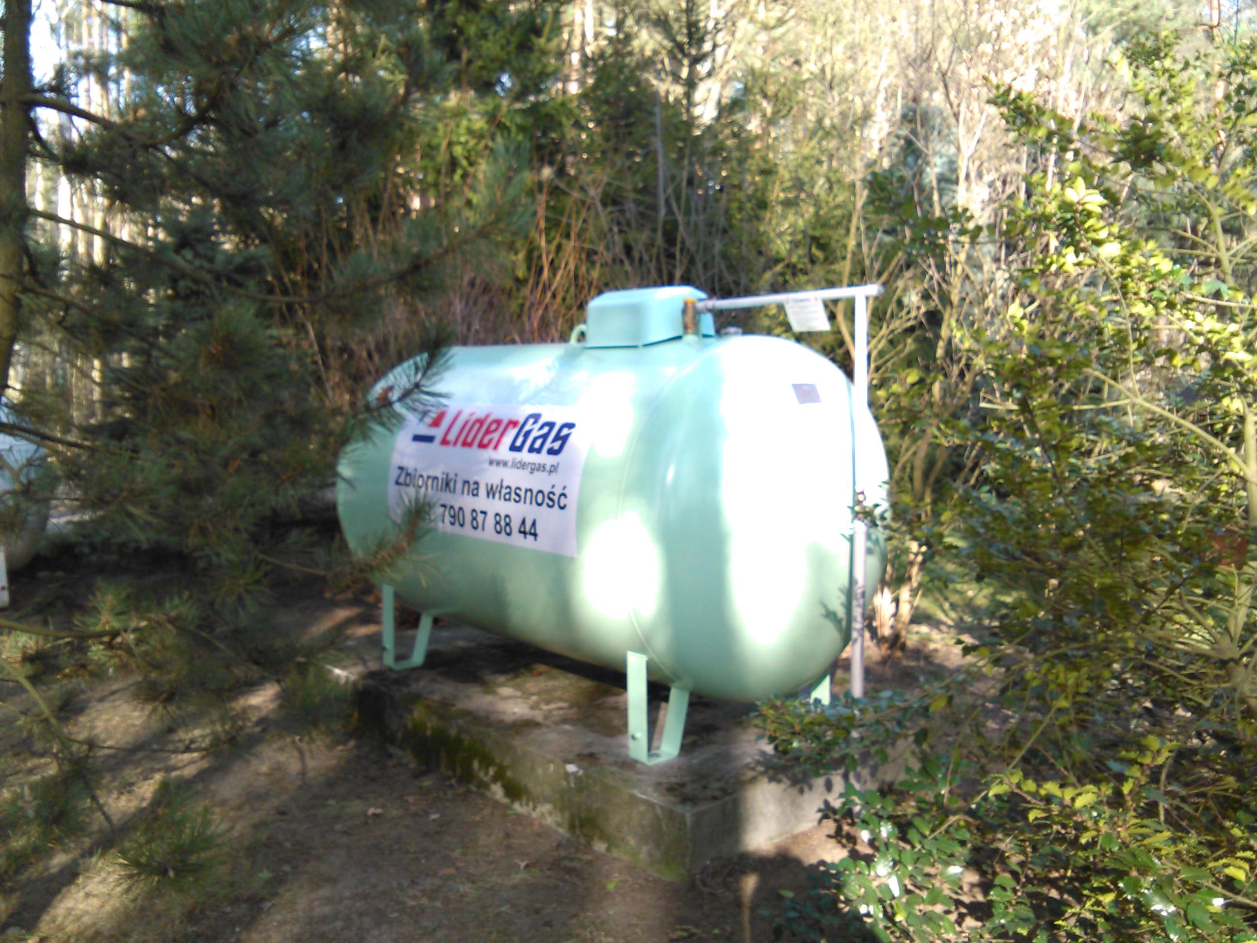 zbiornik na gaz płynny od LiderGas zbiornik naziemn 2700l