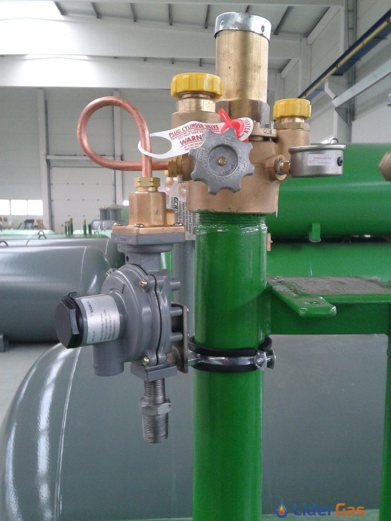 zbiornik na butan Ogrzewanie gazem propan