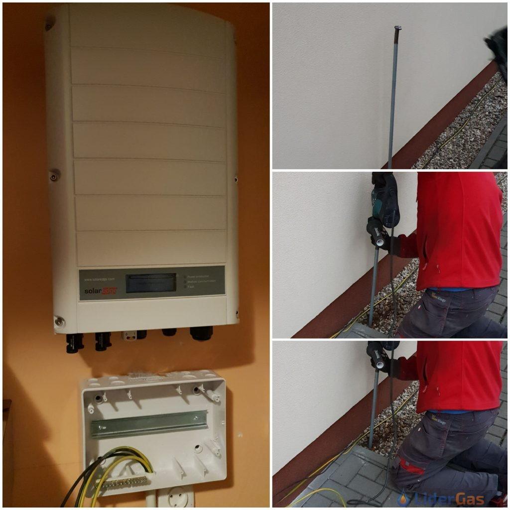 falownik montaż instalacji fotowoltaicznej